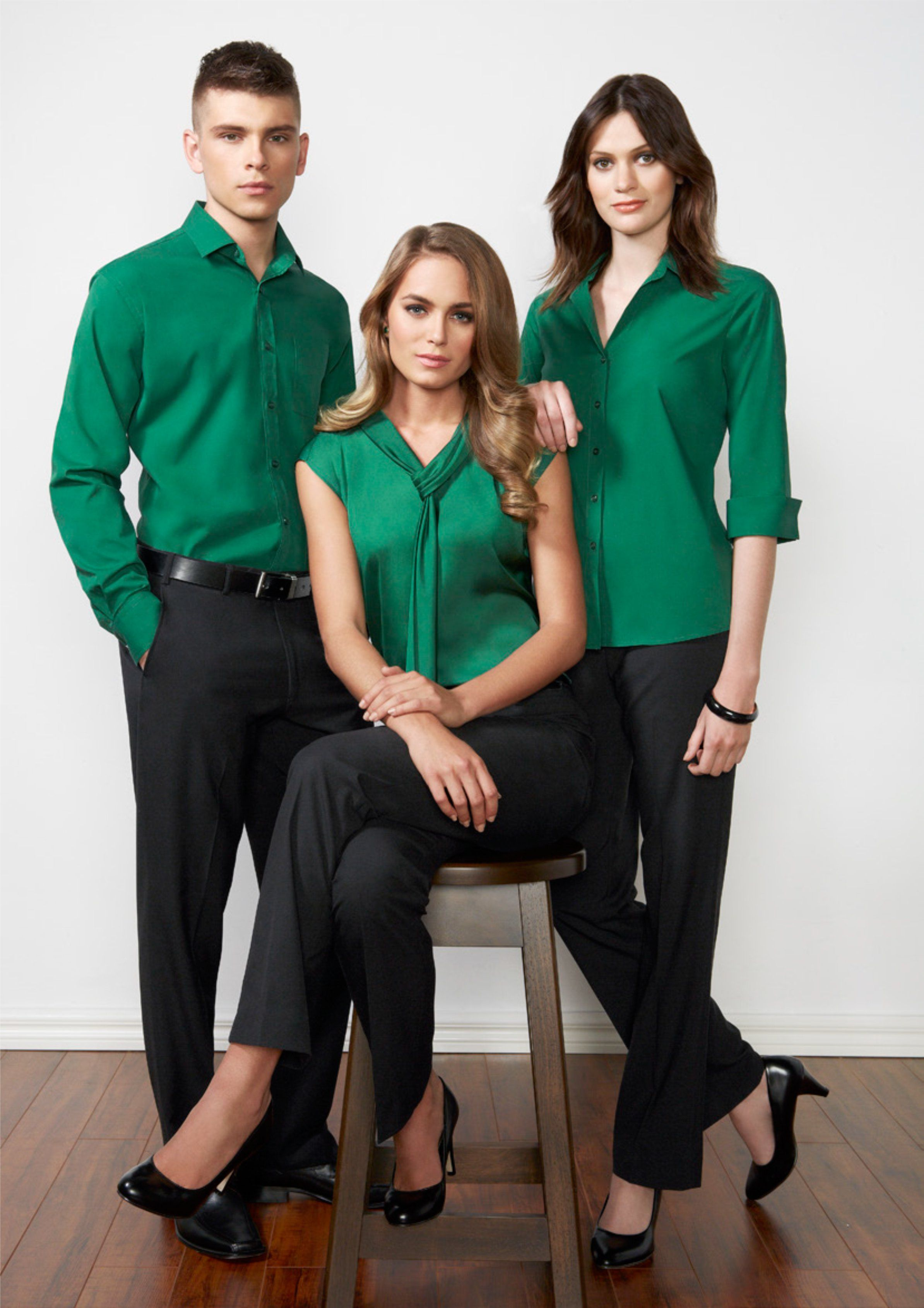 Beautiful new colours for corporate shirting
