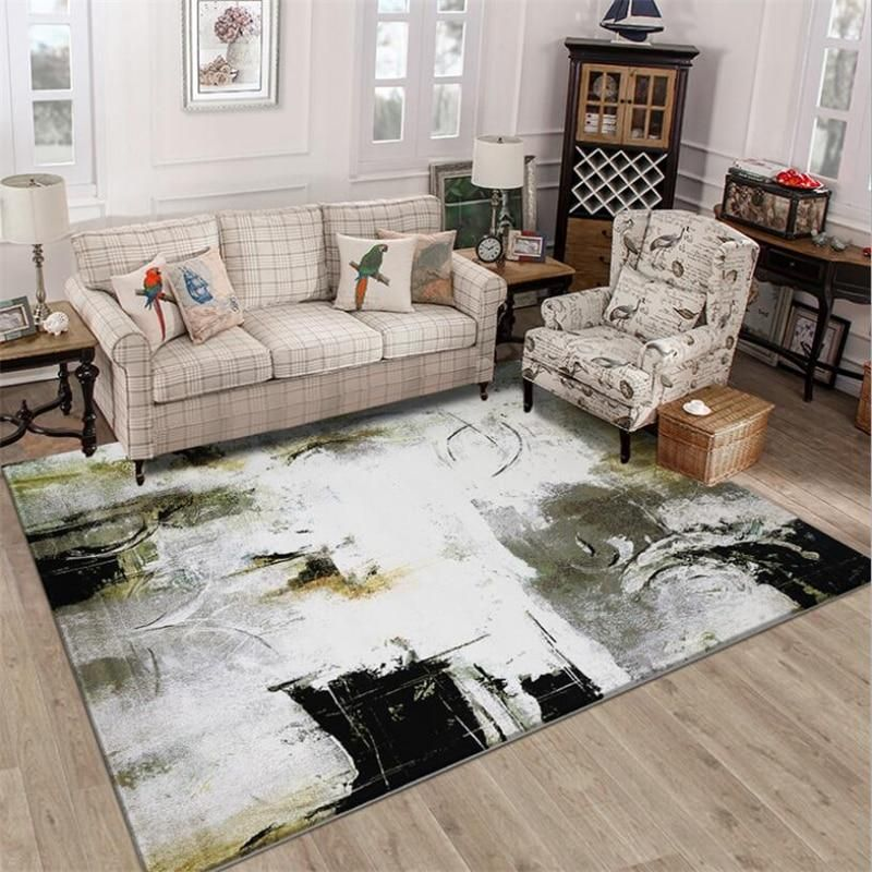 Abstract Art Style Soft Creative Carpets Living Room Carpet