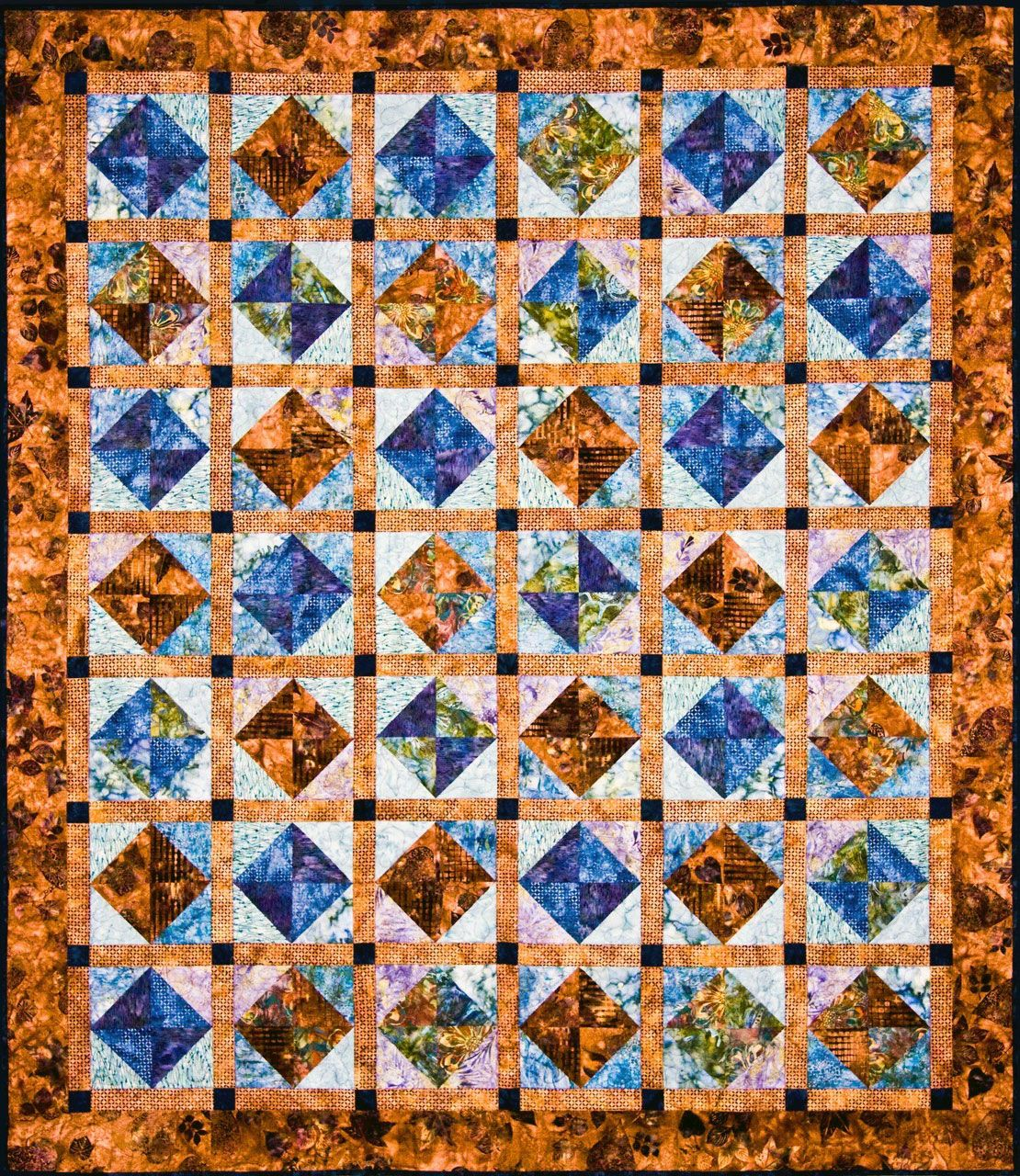 Half Square Triangles Batik Quilts Pattern Ideas In 2020