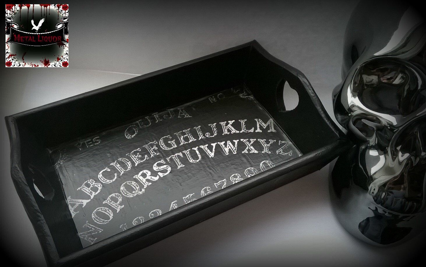 Ouija Board Ring Tray by MetalLiquor on Etsy https://www.etsy.com/listing/254047368/ouija-board-ring-tray