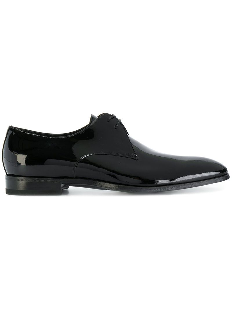 Cheap Online Mens Santoni Textured Derby Shoes Shop