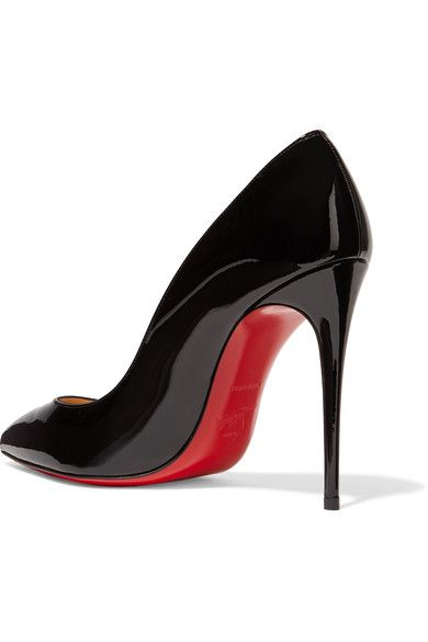 ca92ee5e25d Heel measures approximately 100mm  4 inches Black patent-leather Slip on  Made in ItalySmall to size. See Size   Fit notes. Christian Louboutin -  Pigalle ...