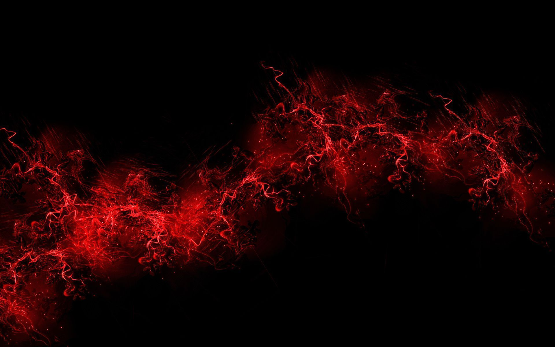 Red car with flames of fire hdr creme - Hd Wallpapers Black And Red Hd Widescreen 11