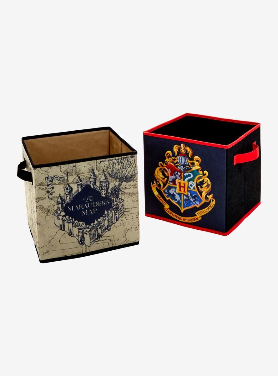Harry Potter Storage Bin Set Cube Storage Harry Potter Bedroom Harry Potter Room