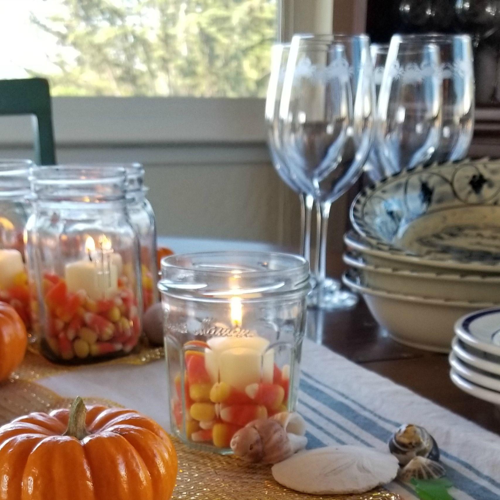 casual fall coastal tablescape autumn on the coast coastal fall rh pinterest com