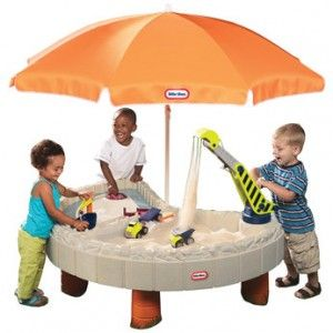 Little Tikes Builderu0027s Bay Sand U0026 Water Table With Kids
