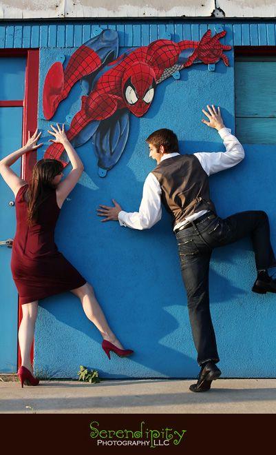Totally Kyle Spider : totally, spider, Totally, Seems, Something, Eddie, Would, Comic, Store, Houston, Engagement, Portrait, Sessi…, Photography,, Portraits,