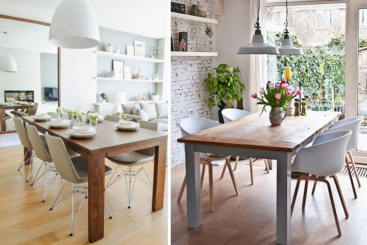 Tipos de mesas de comedor en la decoración | Klinai; muebles | Mesas ...