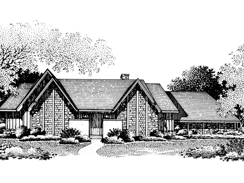 Sutter Rustic Luxury Home House Plans Contemporary House Plans Contemporary Style Homes