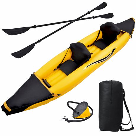 Blue Wave Sports Nomad 2 Person Inflatable Kayak Gold Inflatable Kayak Kayaking Kayak Accessories