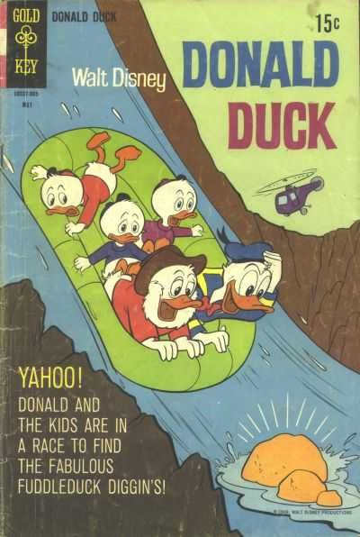 Donald Duck #125 - The Fuddleduck Diggin's (Issue)