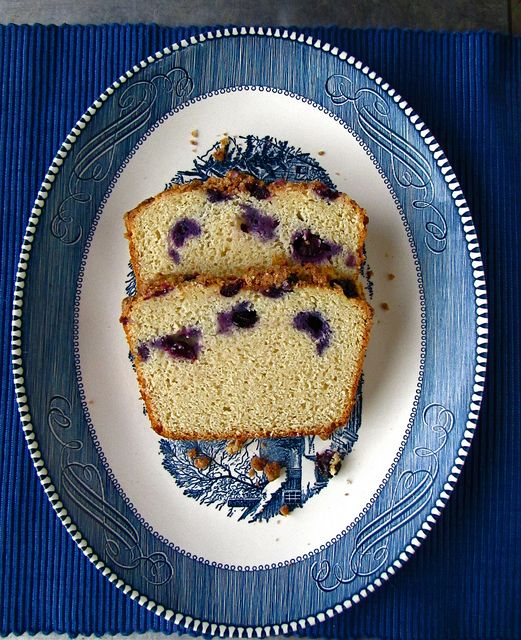 Blueberry-Browned Butter Breakfast Bread @Milisa- Miss in the Kitchen