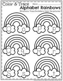 March Preschool Worksheets | educativas | Pinterest