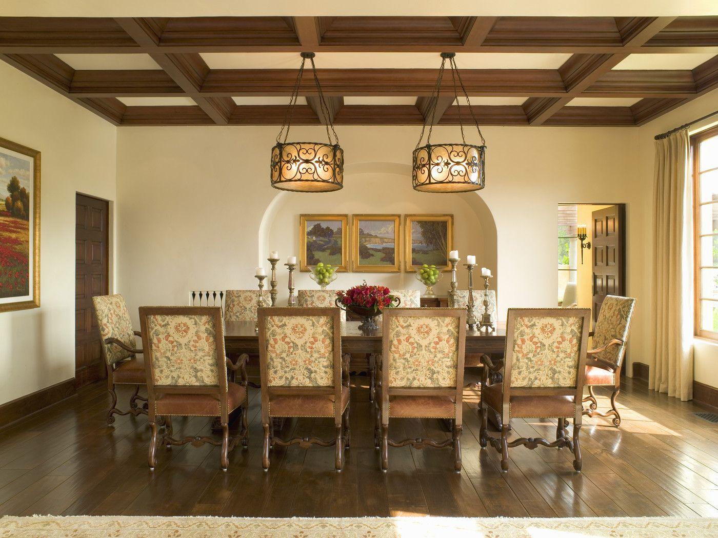 Traditional Dining Room  Traditional dining room, Dining room
