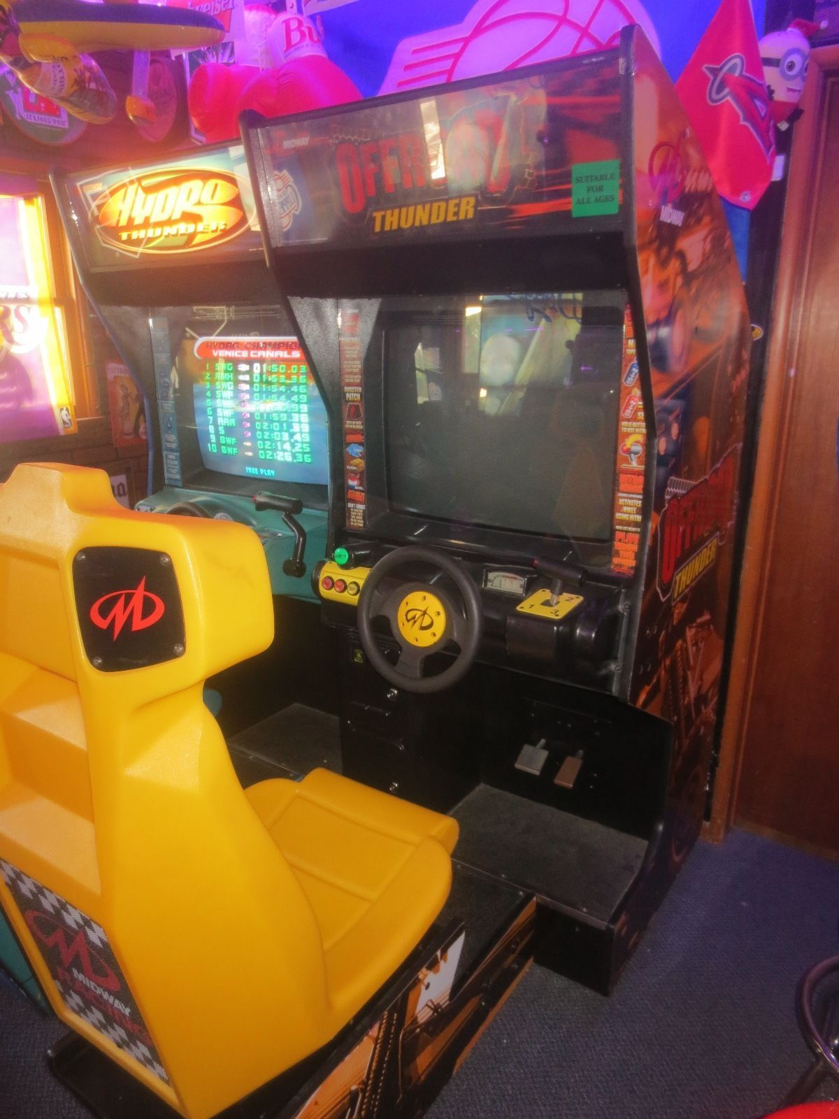 Midway Offroad Thunder Arcade Cabinet | eBay