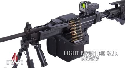 Gun Review: IMI Negev LMG - The Truth About Guns