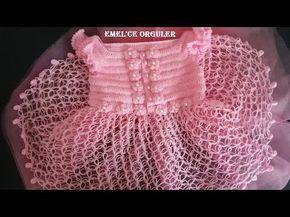 emelce elbise kendin yap 122 zenzir 120 trabzan ile başlıyoruz - YouTube #uncinettoperbambina