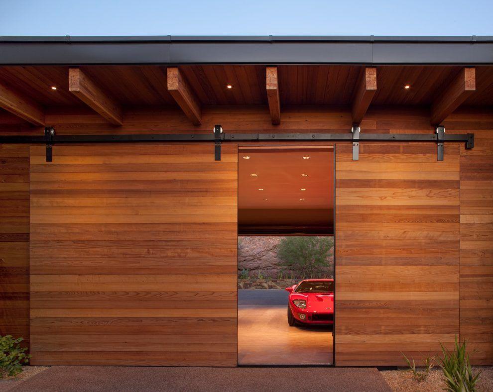 Innovative Sliding Garage Doors Sliding Garage Doors Exterior Rustic With Wood Siding Traditional Sliding Garage Doors Barn Door Garage Garage Door Design
