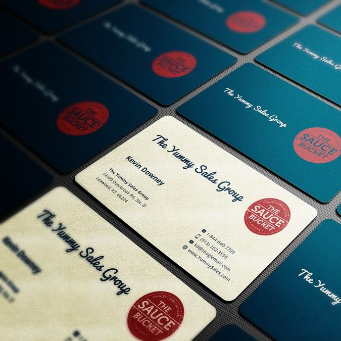 Yummy Sales Group - Business Card by KisaDesign