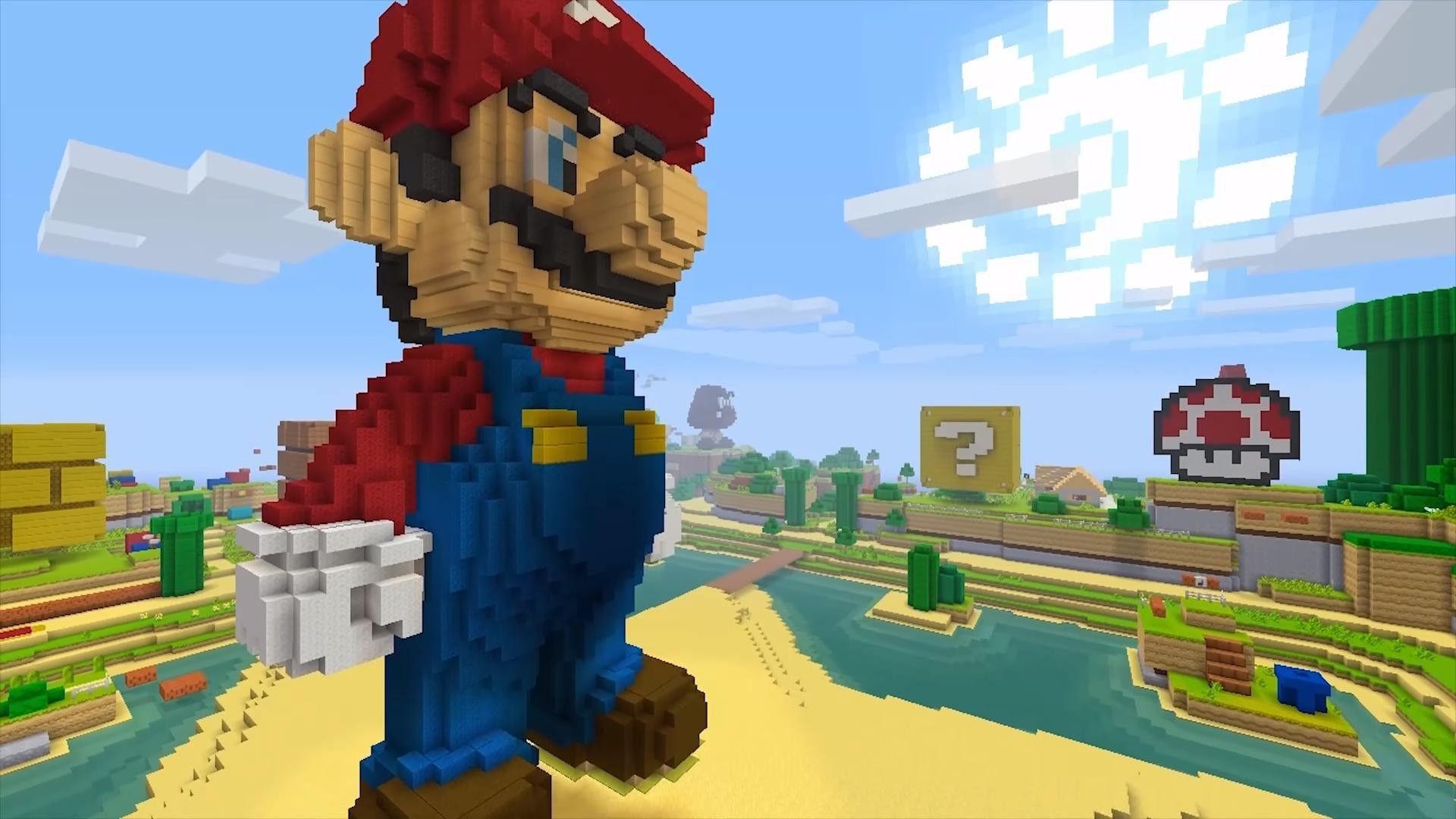 ScovatiEastereggdelnuovoaggiornamentoSuperMariodi - Minecraft hauser video