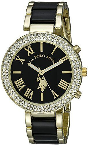 705f6fb9d71 U.S. Polo Assn. Women s USC40061 Two-Tone Watch %SALE%  carscampus