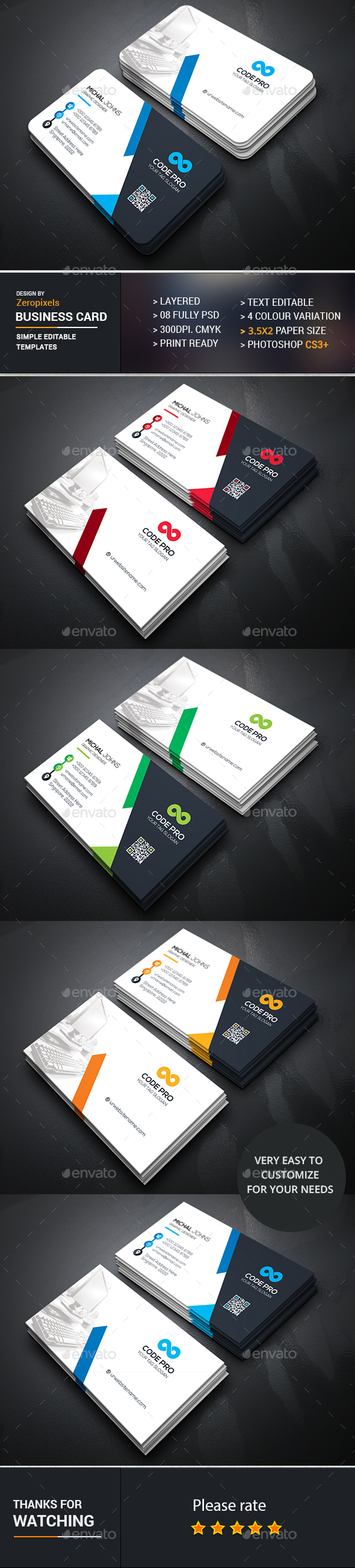 Corporate business card design business cards print template psd corporate business card design business cards print template psd flashek Choice Image