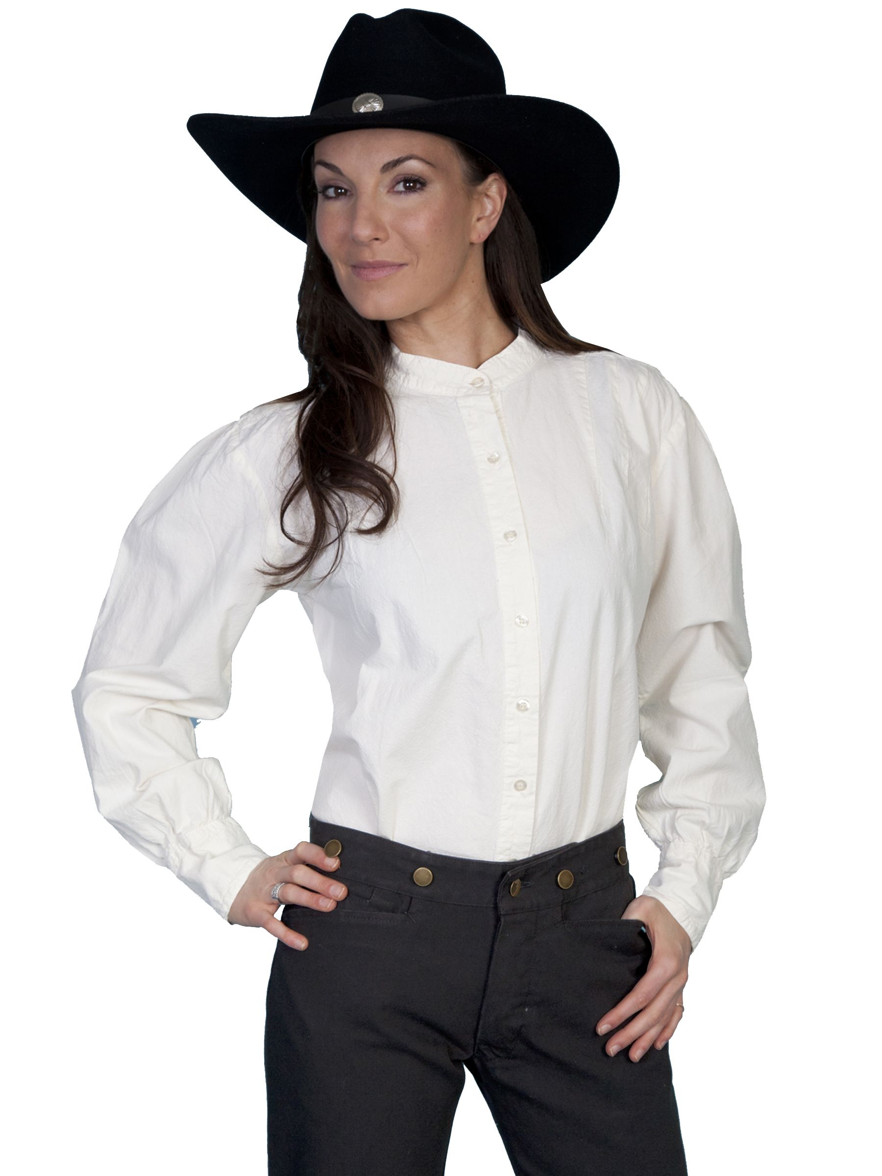 29f809ce5241 Click to Zoom Scully Shirts, Victorian Fashion, Victorian Blouse, Western  Shirts, Ranch