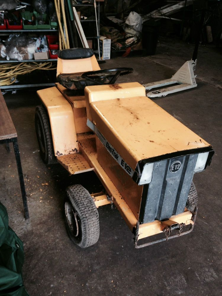 Rare Electric Garden Tractor Elec Trac General Electric Company Tractors Electric Company Garden Tractor