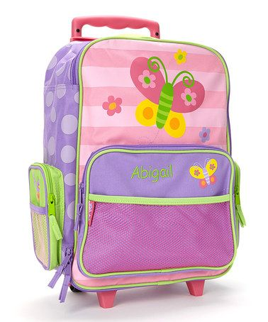 Butterfly Personalized Rolling Luggage | Butterflies and Look at