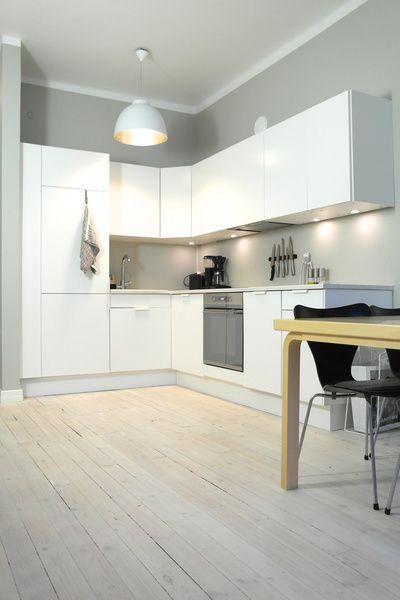 Moderni, yksinkertainen, edullinen, muunneltavissa = ikean keittiö.