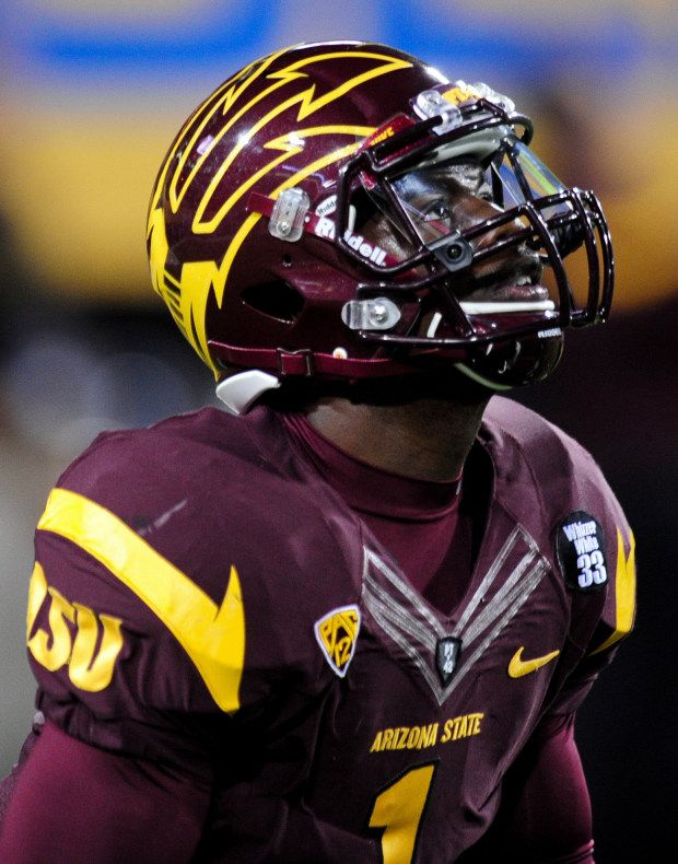2013 Arizona State Maroon Uniforms College Football Uniforms