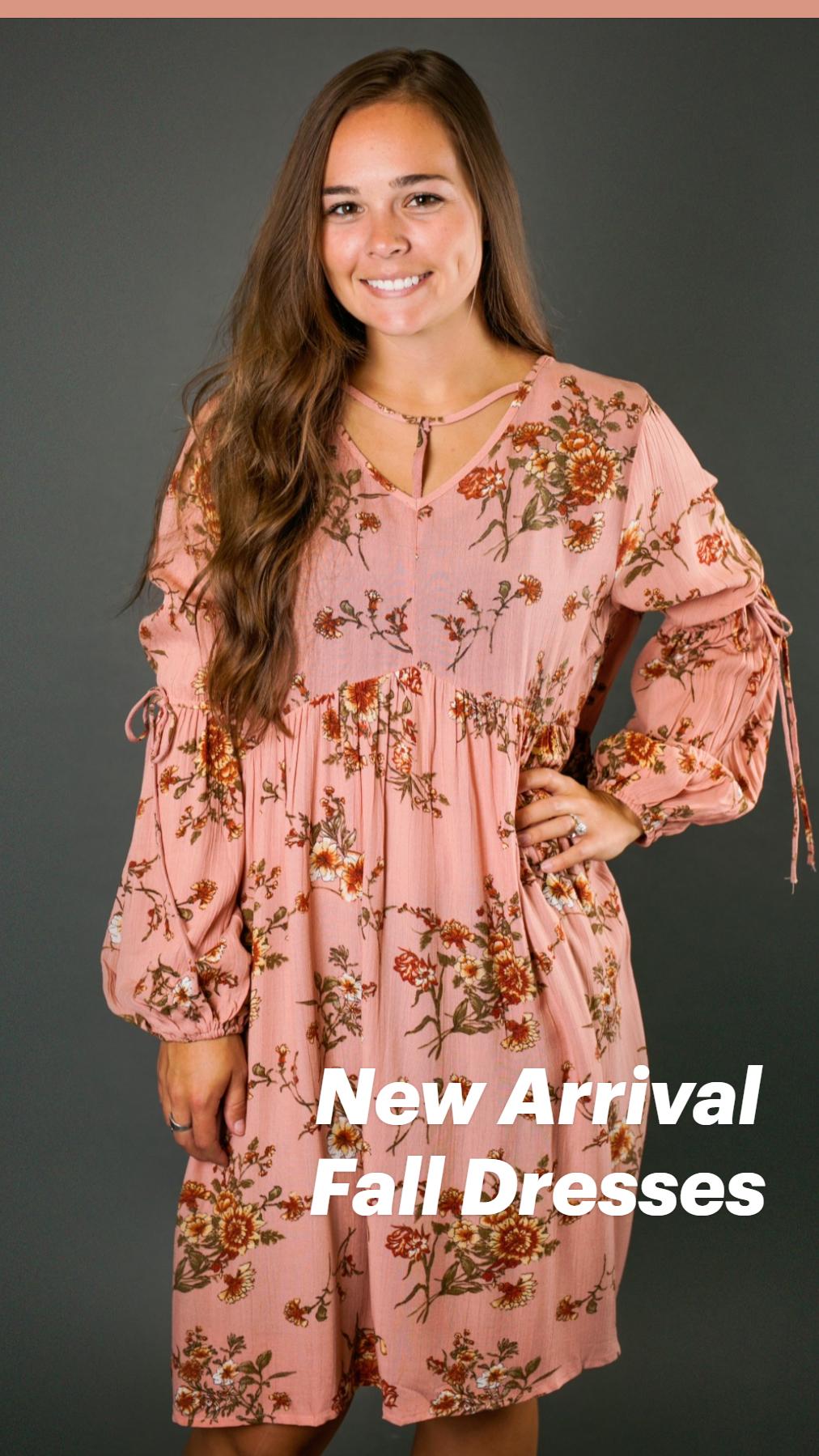New Arrival Fall Dresses