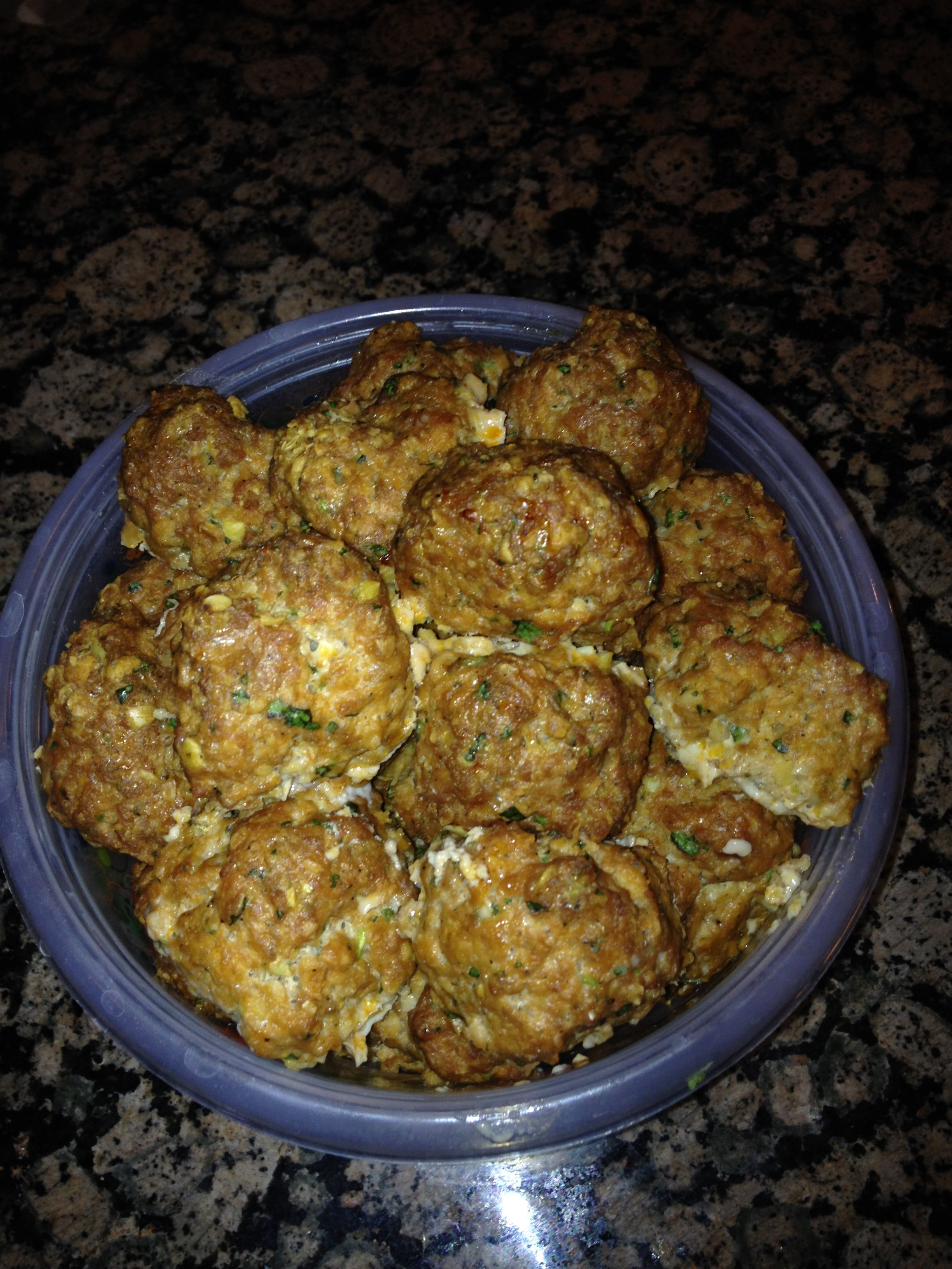 Body Beast Spicy Turkey Meatballs