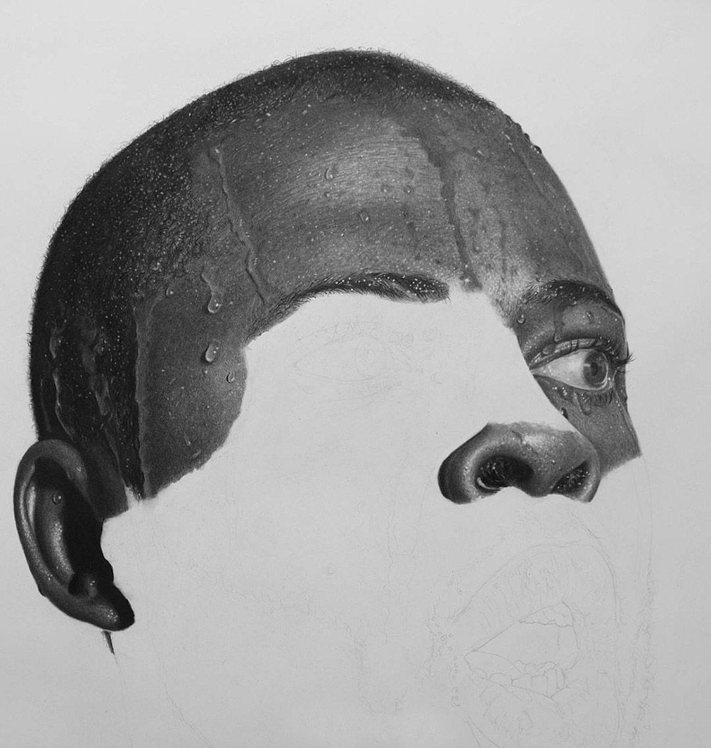 HyperRealistic Pencil Drawings By Arinze Stanley Realistic - Artist uses pencils to create striking hyper realistic portraits
