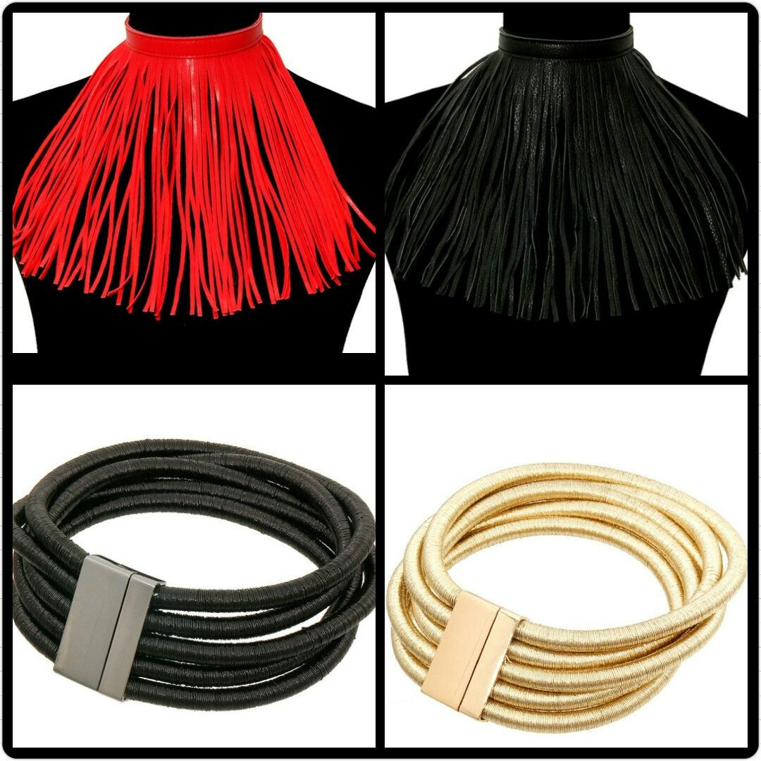 Chunky Statement Chokers to complete your outfit. www.fashionremix2.com