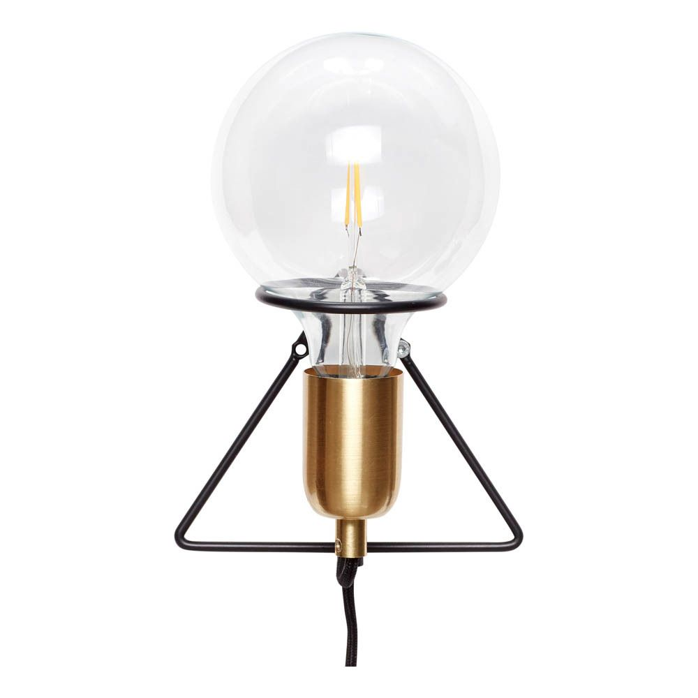 Lampada da muro lampadina Brass wall light, Wall lamp, Lamp