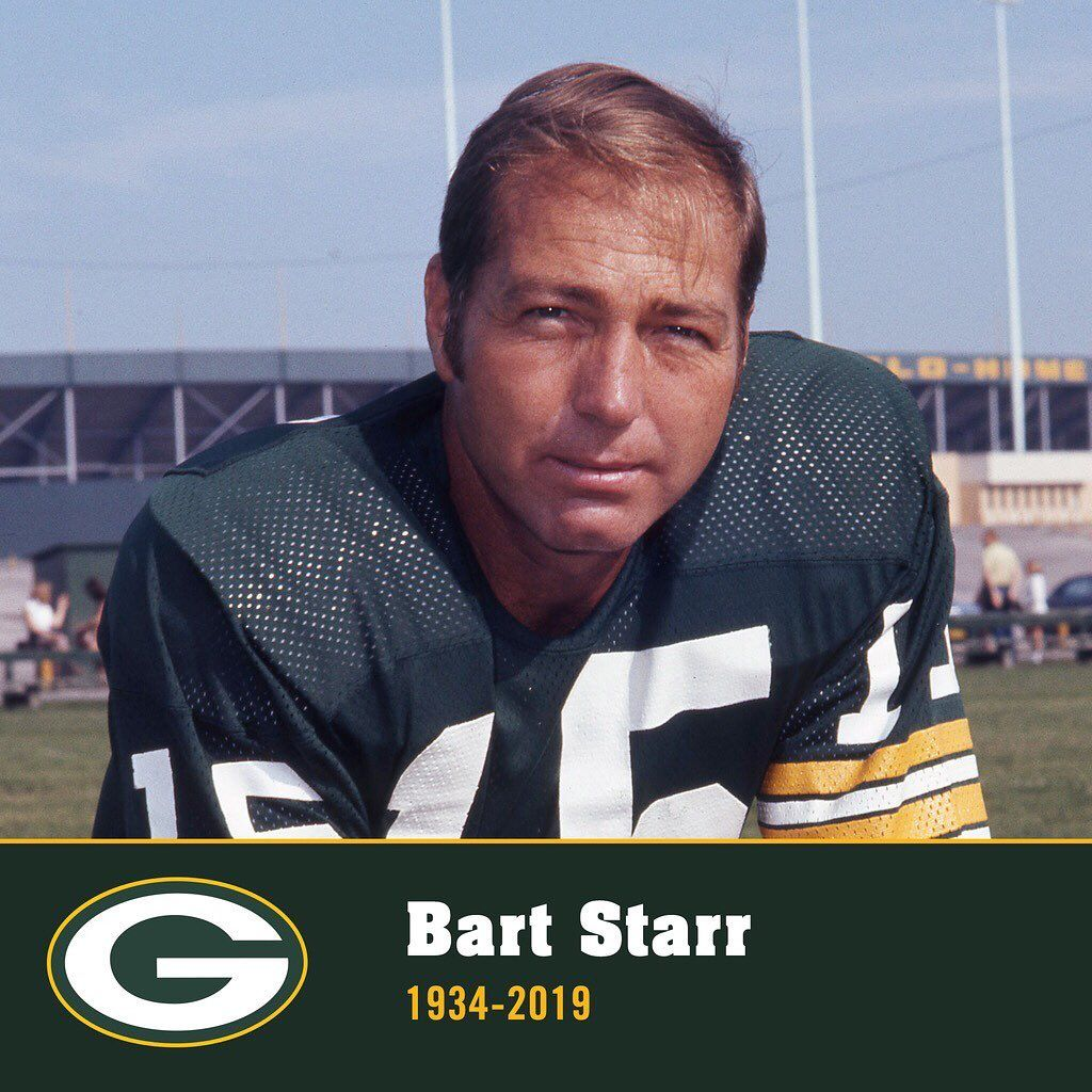 It Is With Deep Sadness That We Announce Green Bay Packers Legend Bart Starr Has Passed Away At Age 85 Bart Starr Bart Packers