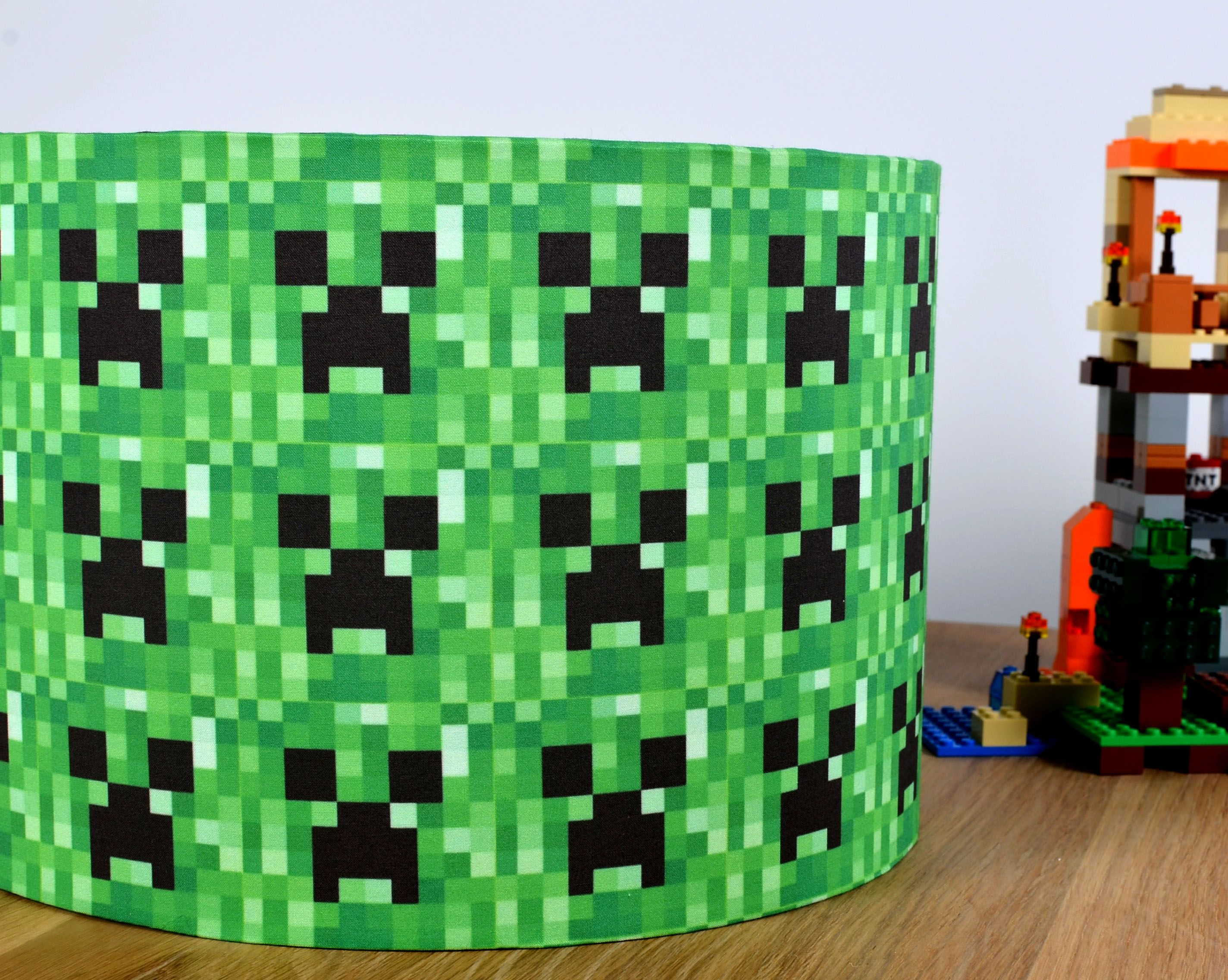 A minecraft lampshade because my daughter is obsessed sigh a minecraft lampshade because my daughter is obsessed sigh aloadofball Gallery