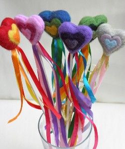 Needle Felted Fairy Wand - Ships in 24hrs