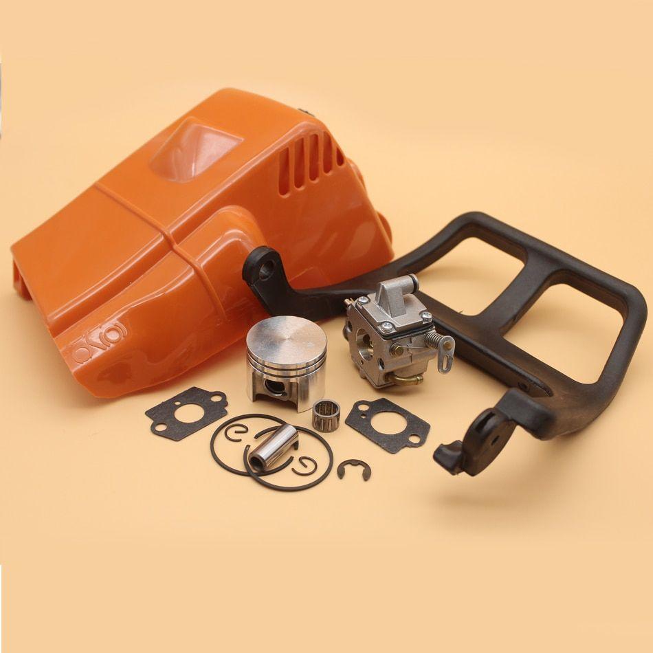 Top Engine Cylinder Cover Chain Brake Front Handle Carburetor