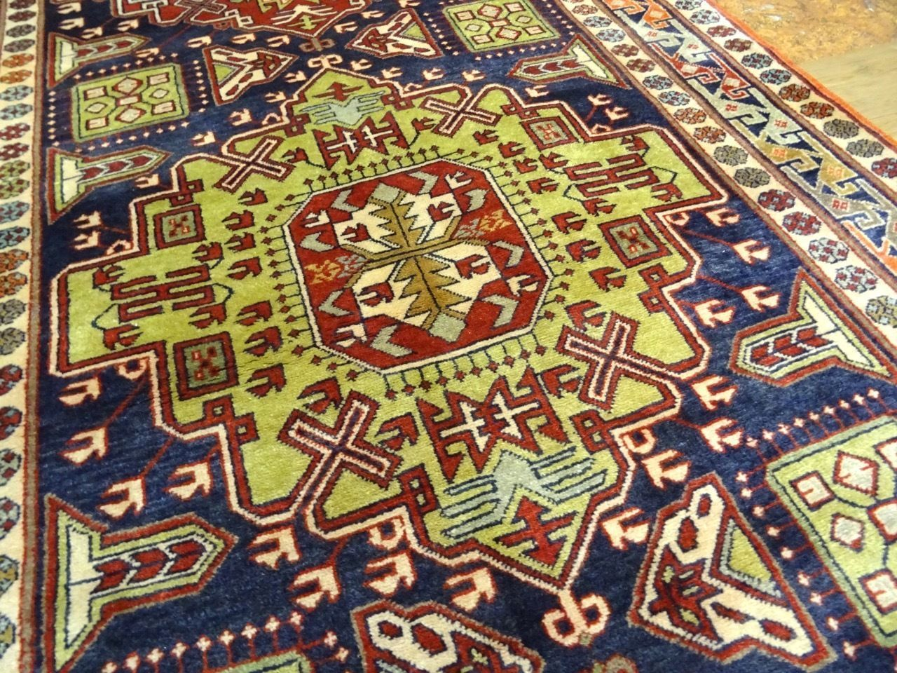 """#Antiques #Gifts Cr.1930 Antique Caucasian Armenian NW Persian Exquisite Rug 4' 4"""" x 10' 2"""" #Collectors"""