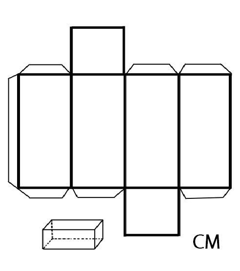 Cuerpos de figuras geometricas para armar - Imagui | Moldes Varios ...