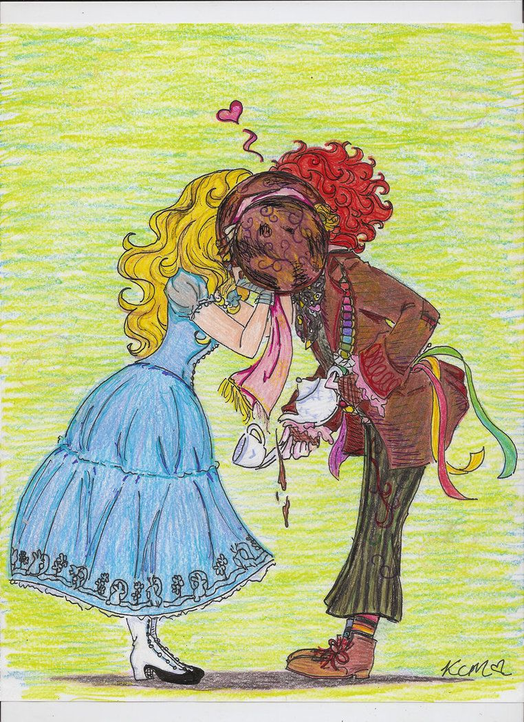 And Alice Hatter Kiss Mad
