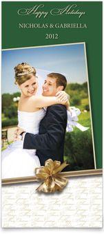 Christmas Photo Cards - Gift of the Season  #wedding
