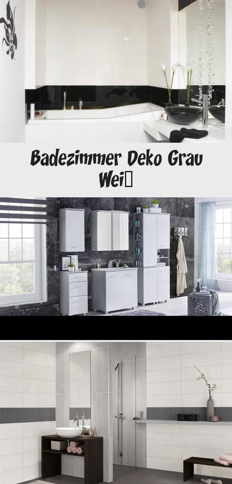 Badezimmer Deko Grau Weiss Dekoration In 2020 Light Box Light