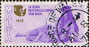 Malta 1975 Womens Year Fine Used                    SG 539 Scott 491 Other European and British Commonwealth Stamps HERE!