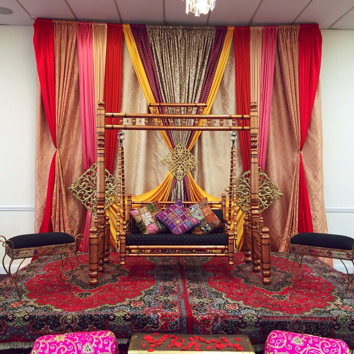 Indian wedding bedroom decoration ideas - Explore Indian Wedding Decorations And More