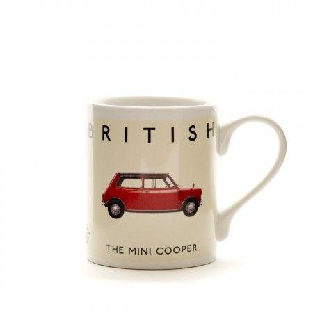 Best Of British Mug - Mini Cooper - Mugs - Homewares | british ...