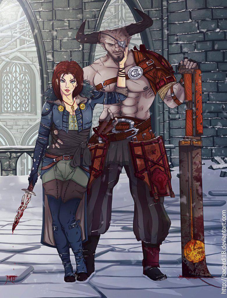 DA: Inquisition, Inquisitor / Iron Bull by Bacardi18