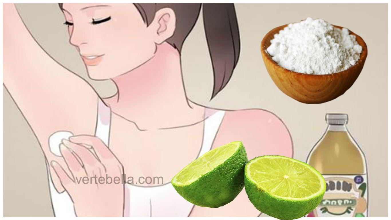 Remedios caseros para quitar el mal olor de las axilas